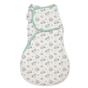 Summer Infant SwaddleMe WrapSack Small - Neutral Owls