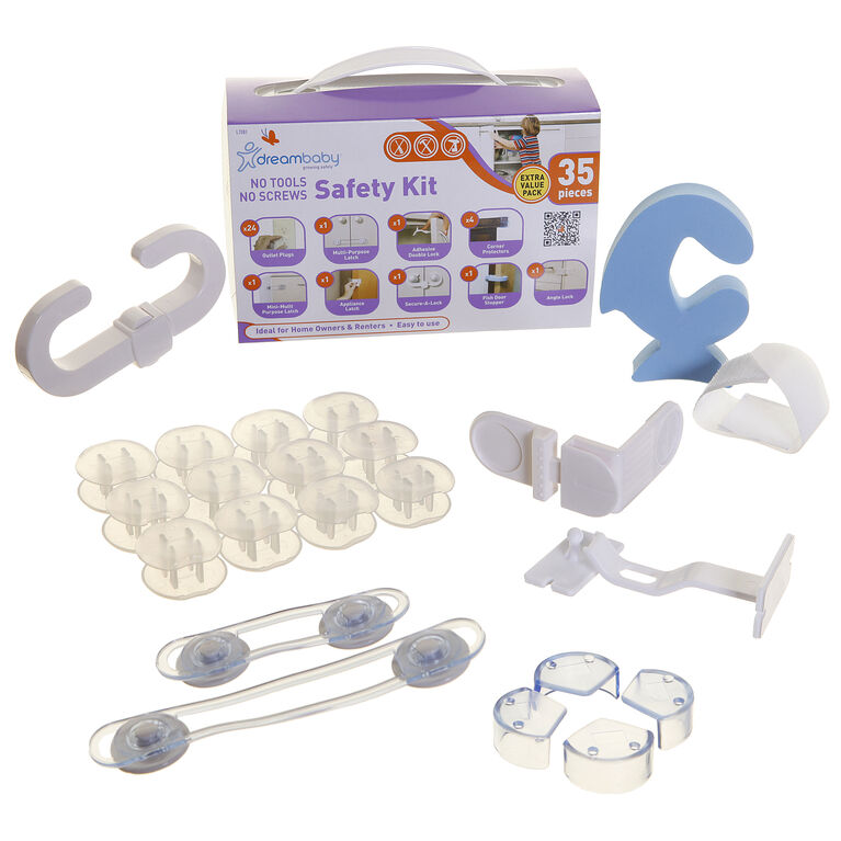 Dreambaby Home Safety Kit - 35pc