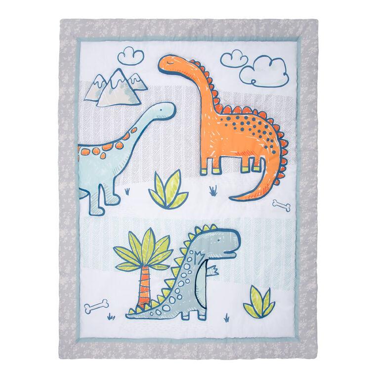 Sammy&Lou Dino Million Years 4 Pc Crib Bedding