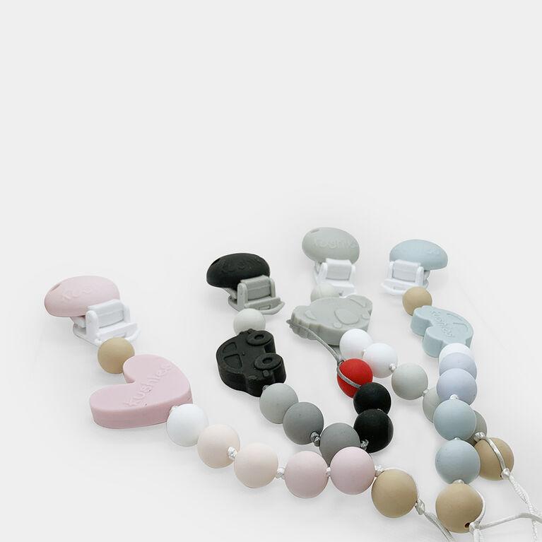 Silibeads attache-suce en silicone coeur