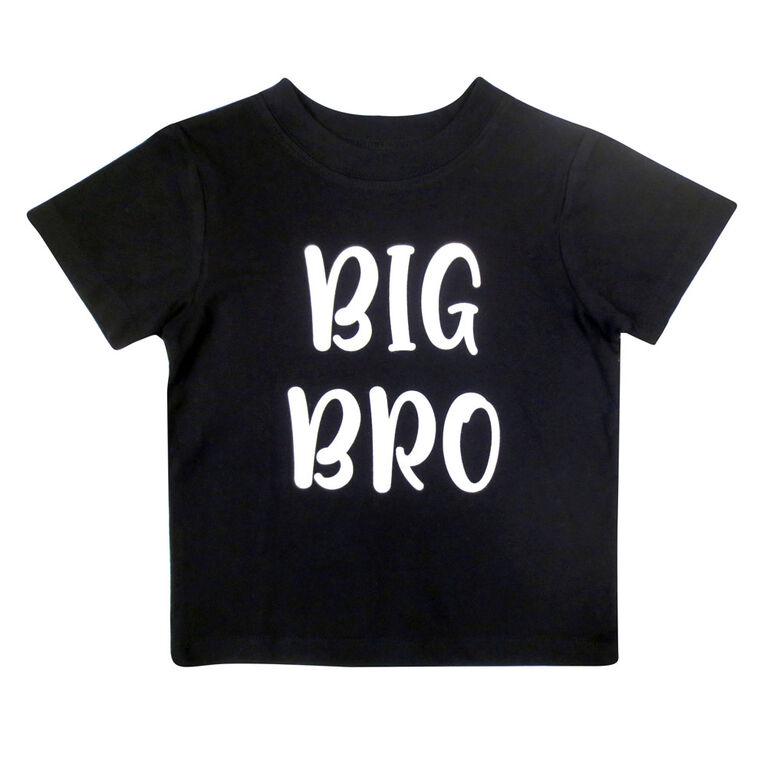 Rococo short sleeve Tshirt - Black, 4T