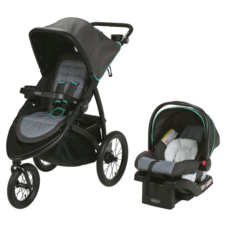Graco RoadMaster Jogger Travel System - Lake Green ...