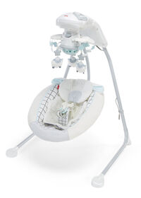 Fisher-Price Sweet Little Lamb Cradle 'n Swing