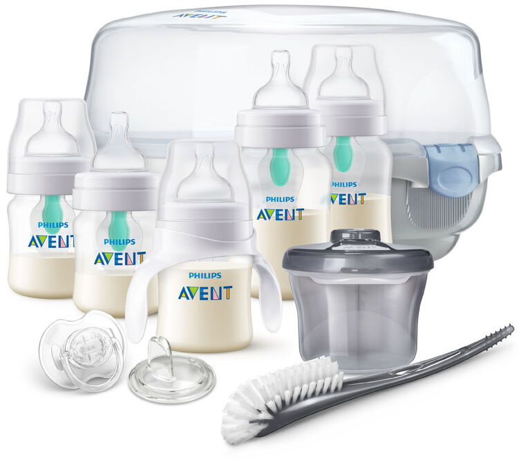 Philips Avent Anti-Colic Baby Bottle with AirFree Vent Essentials Gift Set