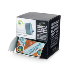 UNIVERSAL SIPPY TOP TRAVEL TIN DISPLAY