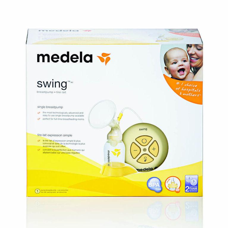 Medela Swing Electric Breastpump - with BPA-Free Bottles