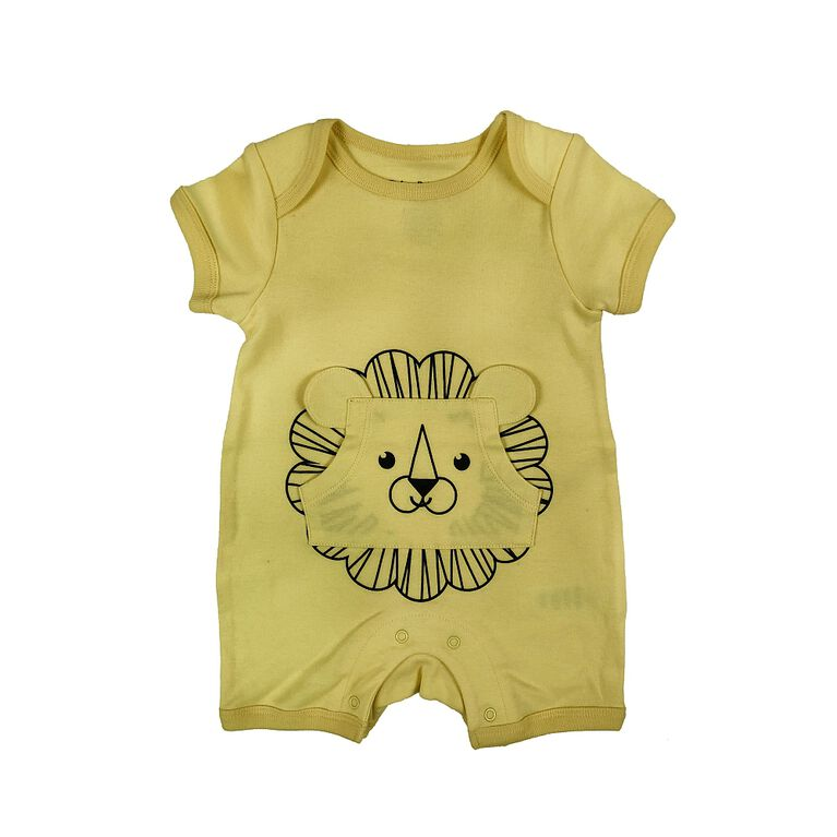 Fisher-Price Romper - Yellow, 6 Months