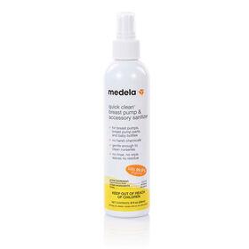 Quick Clean Breast Pump & Accessory Sanitizer Spray - English Edition