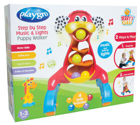 Playgro - Step by Step Music and Lights Puppy Walker