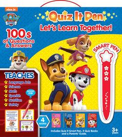 Quiz It Pen Set - Paw Patrol - English Edition