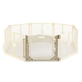 North States Superyard Ultimate2-Panel Extension - Ivory