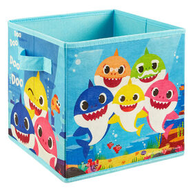 "9"" Bac de rangement souple- Baby Shark"