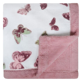 Perlimpinpin Plush Blanket - Butterfies