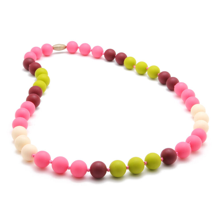 Chewbeads Bleecker Necklace - Punchy Pink