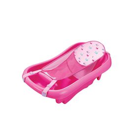 Sure Comfort Deluxe Newborn to Toddler Tub - Pink