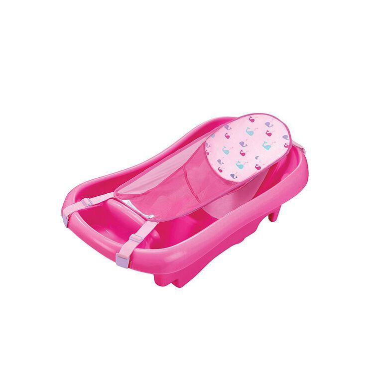 Baignoire du nouveau-né au tout-petit De luxe Sure Comfort - rose.