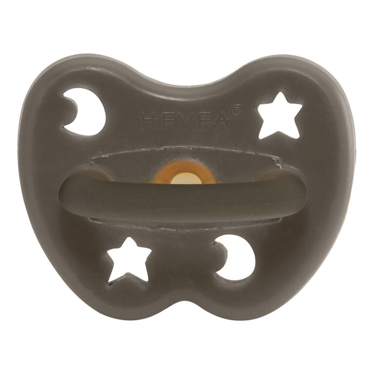 Hevea - Gris Shiitake - Caoutchouc Naturel Orthodontique / Gris Shiitake / 0-3 Mois