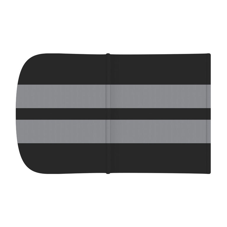 Foundations Gaggle 4 Roof Accessory, Black with Gray Stripes