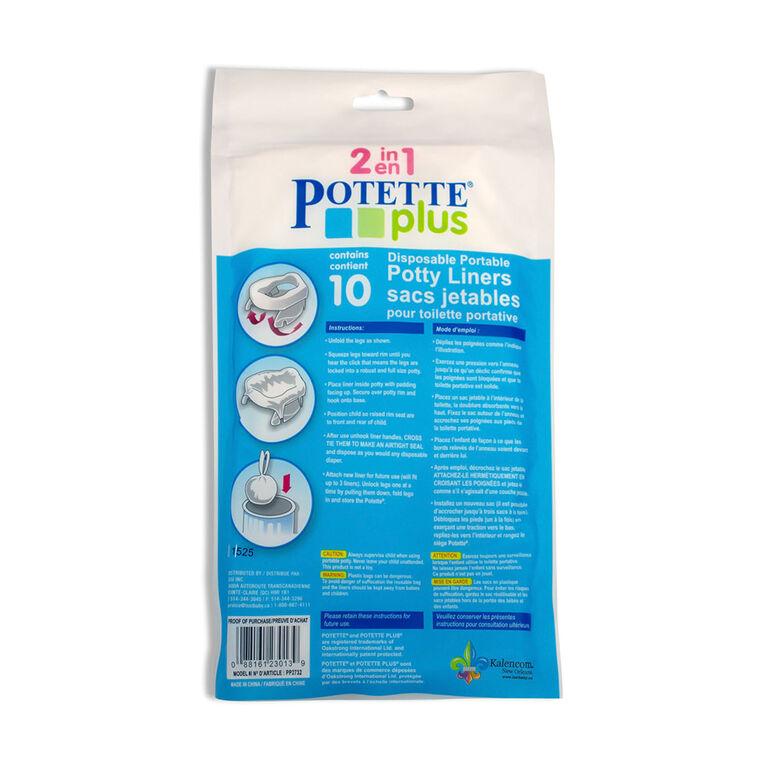 Potette Plus 10-Piece Potty Liners