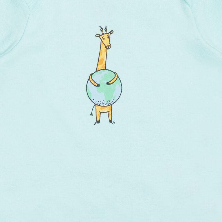 earth by art & eden Isla 3-Pack Bodysuit- 9 months