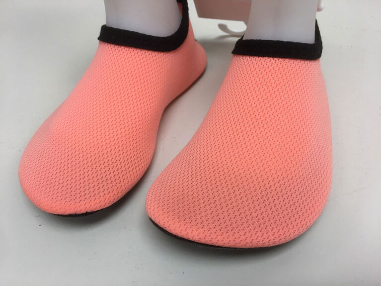 Tickle-toes Coral Girl Aqua Shoes Size 7
