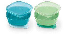 NUK Suction Bowls 2 Pack- Neutral