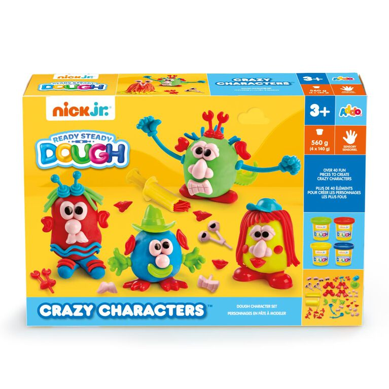 Nick Jr Ready Steady Dough Crazy Characters - R Exclusive