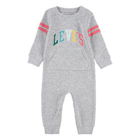 Levis Coverall - Light Grey, 9 Months
