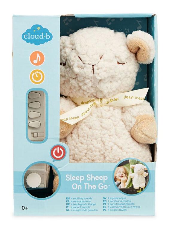 Cloud B - Sleep Sheep On The Go Portable Plush Sound Machine