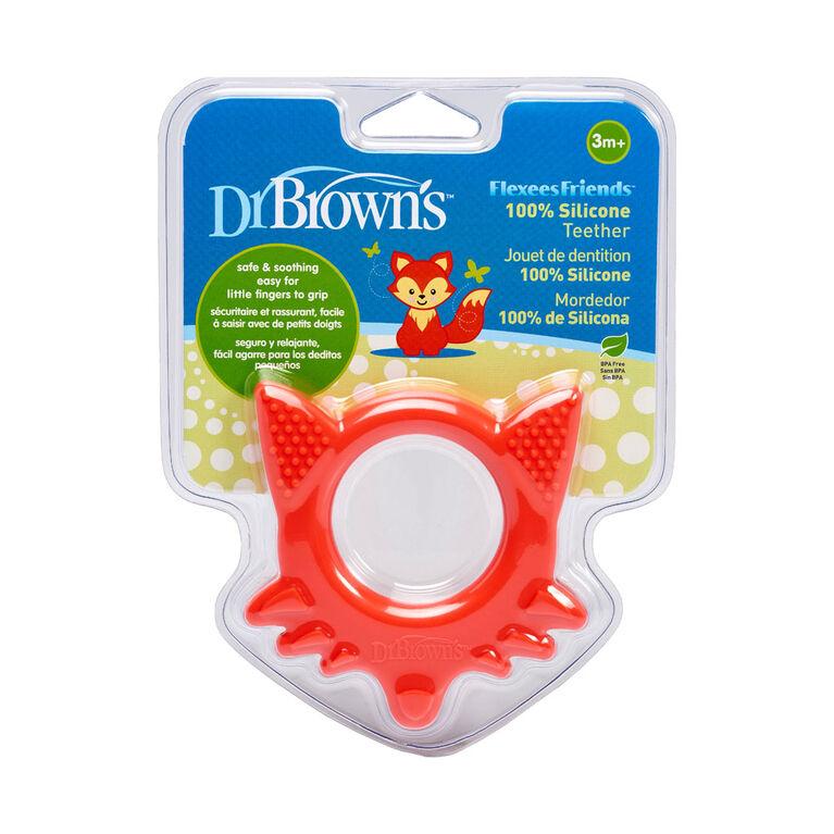 Dr. Brown's Flexees Friends Teether - Fox