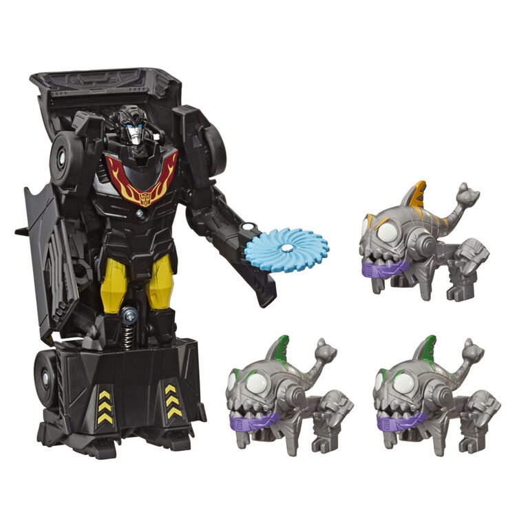 Transformers Toys Cyberverse  Sharkticons Attack Pack - R Exclusive