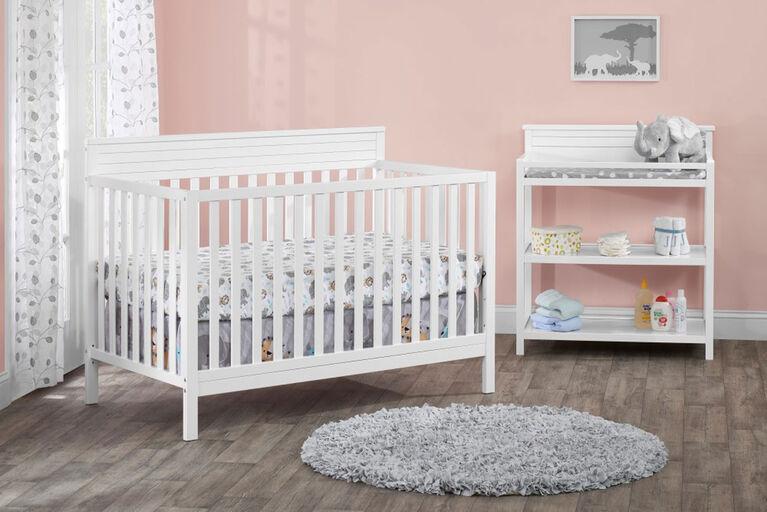 Table à langer Skyler d'Oxford Baby - Blanc - Notre exclusivité