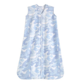 Halo Sleepsack Wearable Blanket - Micro-Fleece - Sky + Sea - Medium