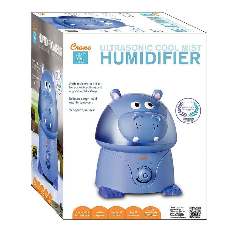 Crane - Ultrasonic Cool Mist Humidifier - Hippo