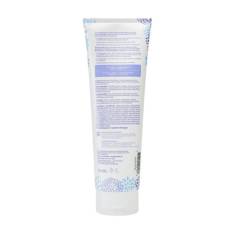 Honest -Face/Body Lotion-Dreamy Lavender.