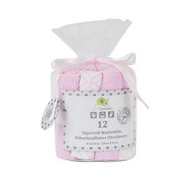 KidiComfort paquet de 12 Debarbarbouillettes - rose.