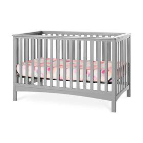 Lit de bébé transformable 4-en-1 LondonMC de Forever Eclectic par Child Craft, gris frais.