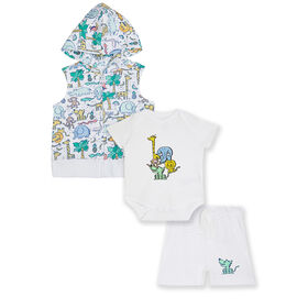 earth by art & eden Jungle 3-Piece Set- 3 months