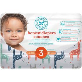 Honest Diapers Size 3 Multi Giraffe