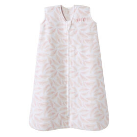 HALO SleepSack - Micro Fleece - Pink Leaves - Small