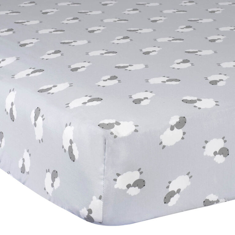 Gerber Fitted Crib Sheet Lamb