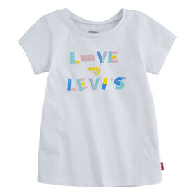 Levis Graphic Tee - White, 12 months