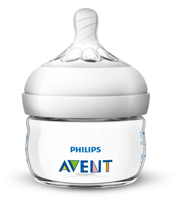 Philips Avent Natural Baby Bottle Nipple, First Flow Nipple 2-Pack
