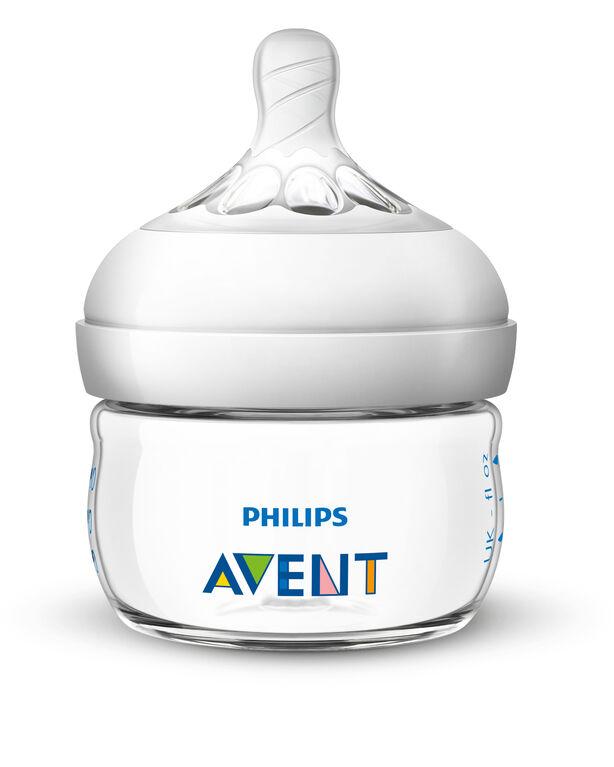 Tétine naturelle Philips Avent, à premier débit, emb.de2.