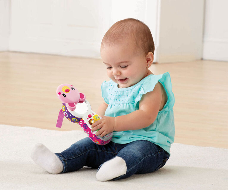 Peek-a-Bear Baby Phone (Pink) - French Edition