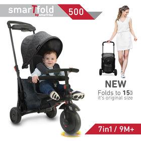 smarTfold™ 500 Mélange 7-en-1 Tricycle Gris Classique - Notre exclusivité