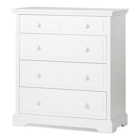 Child Craft Camden Ready to Assemble 4-Drawer Chest - Matte White