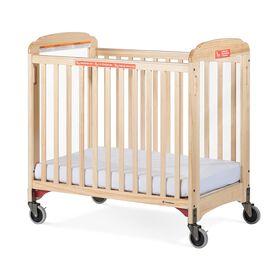 Foundations Next Gen First Responder Evacuation Compact Crib, Natural