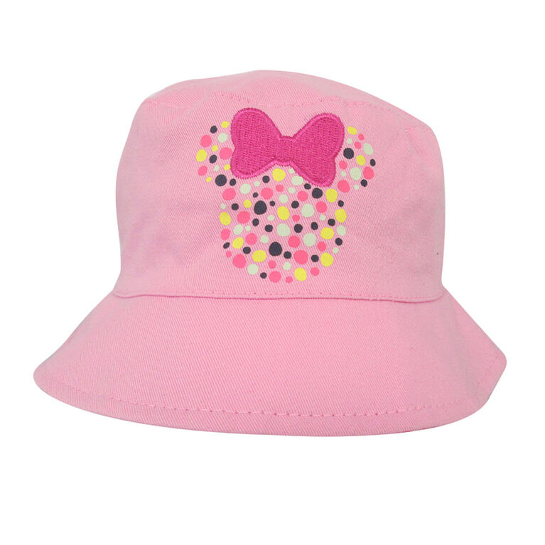 Disney - Bucket Hat - Minnie, Pink, 12-24M