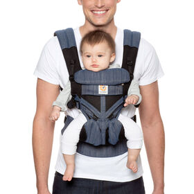 Ergobaby Omni 360 Cool Air Mesh All-in-One Ergonomic Baby Carrier - Indigo